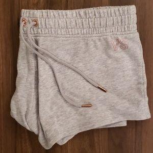 VS L gray/rose gold pj shorts comfy